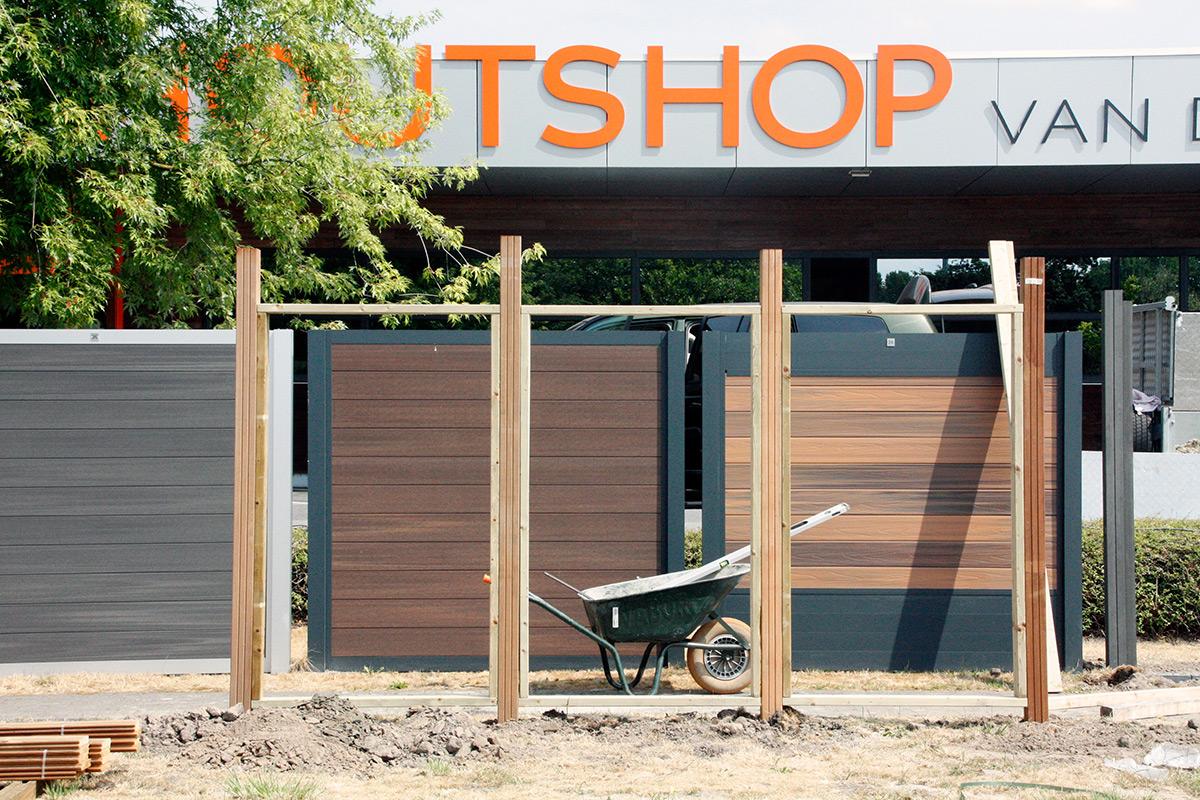 Houten Scheidingswand Tuin : Tuinschermen trend to infinity and beyond houtshop