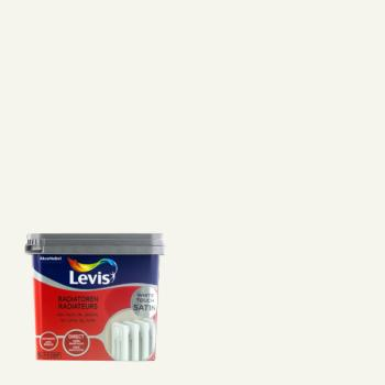 LEVIS RADIATOREN SATIN WHITE TOUCH 0.75 L