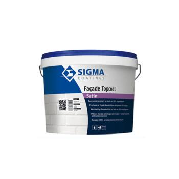 SIGMA FACADE TOPCOAT SATIN WIT 1L