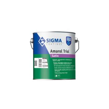 SIGMA AMAROL TRIOL SATIN WIT 2.5L
