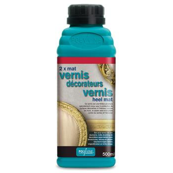 POLYVINE DECORATEURSVERNIS HEEL MAT 500ML