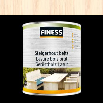 FINESS STEIGERHOUTBEITS 0.75ML WHITE WASH