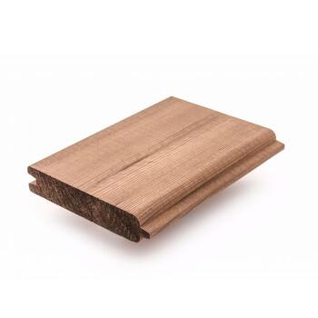 MASSIEFPLANK THERMOWOOD GRENEN 26x130MM 180CM