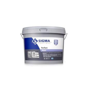 SIGMA PERFECT MAT BASIS WN/WHITE 5L